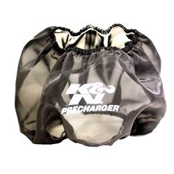 K&N E-3650PK PreCharger Air Filter Wrap, 5in Tall, Black