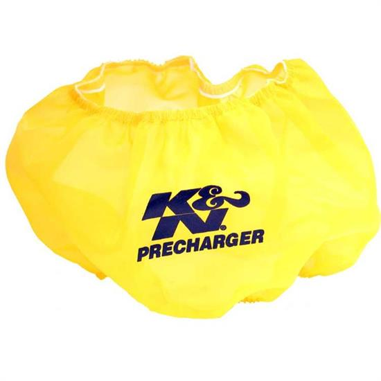 K&N E-3650PY PreCharger Air Filter Wrap, 5in Tall, Yellow