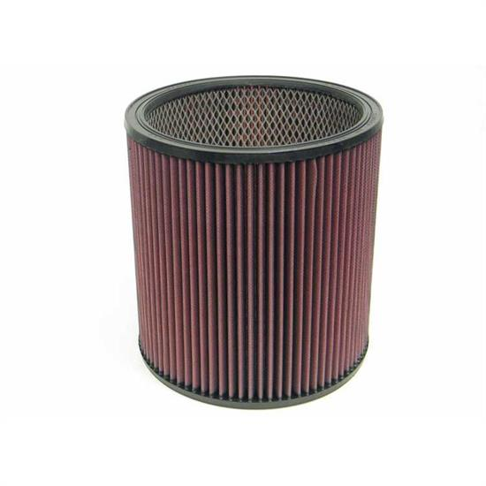 K&N E-3659 Lifetime Performance Air Filter, 9in Tall, Round