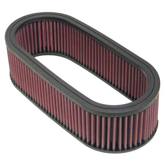 K&N E-3671 Lifetime Performance Air Filter, 3.25in Tall, Oval