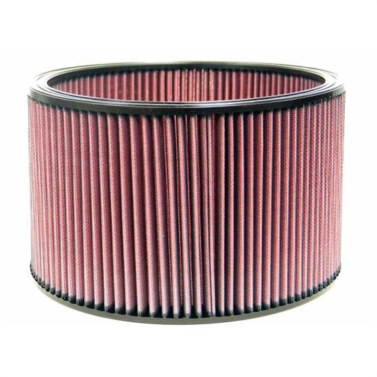 K&N E-3674 Lifetime Performance Air Filter, 6in Tall, Round