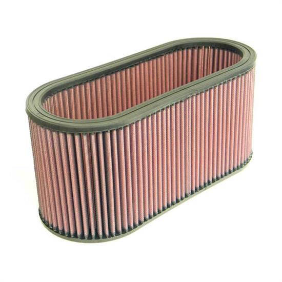 K&N E-3676 Lifetime Performance Air Filter, 5.625in Tall, Oval