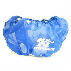 K&N E-3680PL PreCharger Air Filter Wrap, 5in Tall, Blue