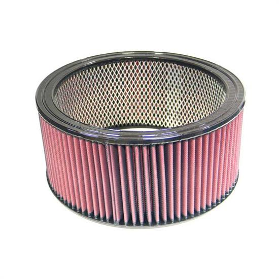 K&N E-3681 Lifetime Performance Air Filter, 5in Tall, Round