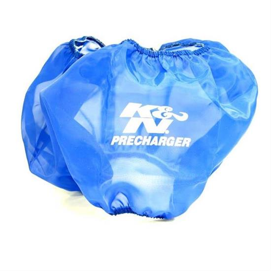 K&N E-3690PL PreCharger Air Filter Wrap, 6in Tall, Blue