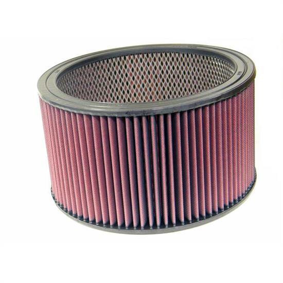 K&N E-3691 Lifetime Performance Air Filter, 6in Tall, Round