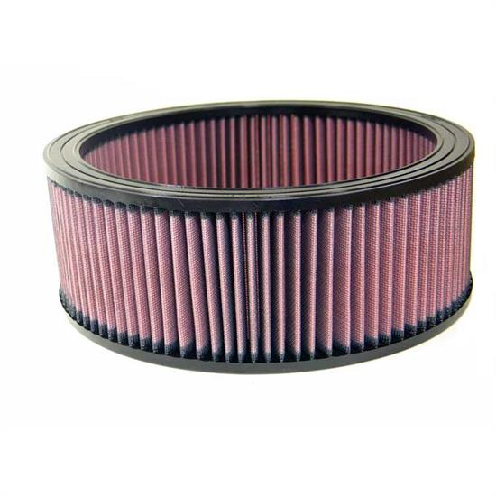 K&N E-3692 Lifetime Performance Air Filter, 4in Tall, Round
