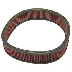 K&N E-3737 Lifetime Performance Air Filter, 3in Tall, Round