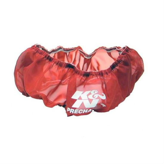 K&N E-3740PR PreCharger Air Filter Wrap, 2.25in Tall, Red