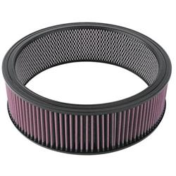 K&N E-3750 Lifetime Performance Air Filter, 4in Tall, Round