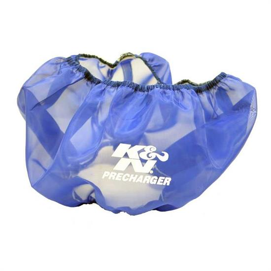 K&N E-3770PL PreCharger Air Filter Wrap, 6in Tall, Blue