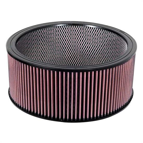 K&N E-3770 Lifetime Performance Air Filter, 6in Tall, Round