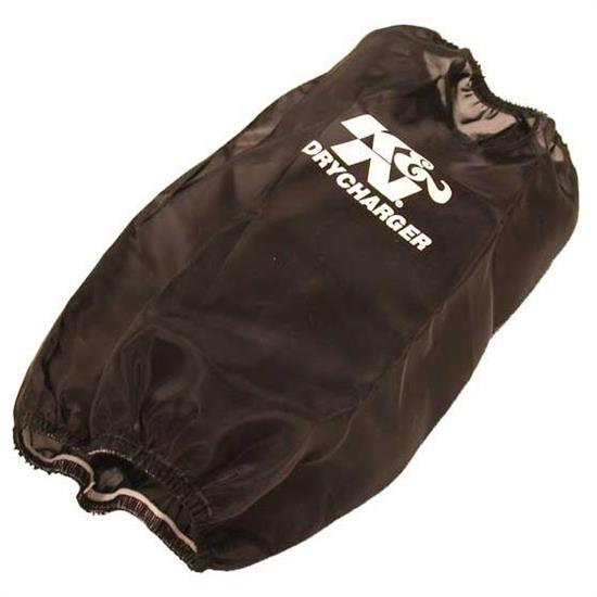 K&N E-3810DK DryCharger Air Filter Wrap, 12.5in Tall, Black