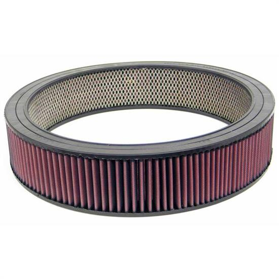 K&N E-3813 Air Filter, 3.5in Tall, Round