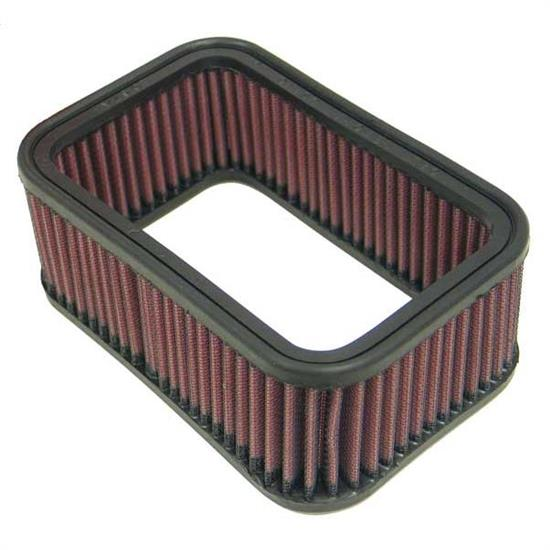K&N E-3952 Lifetime Performance Air Filter, 2.5in Tall, Rectangular