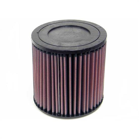 K&N E-3956 Lifetime Performance Air Filter, 6in Tall, Round