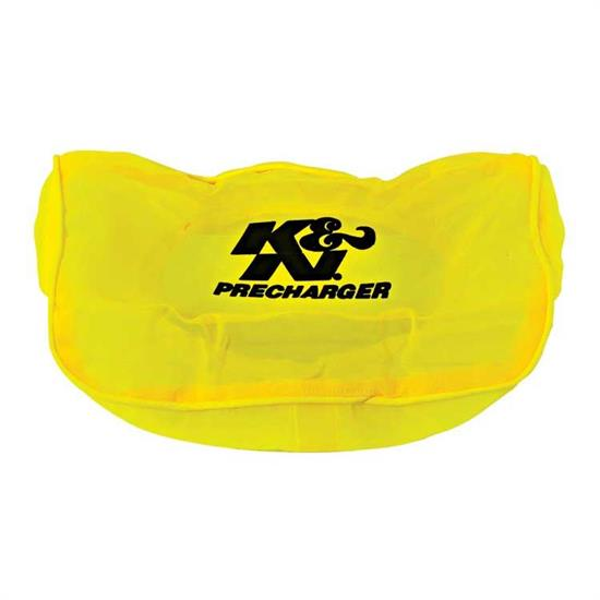 K&N E-3960PY PreCharger Air Filter Wrap, 1.75in Tall, Yellow