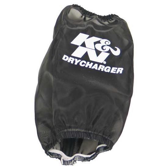 K&N E-4510DK PreCharger Air Filter Wrap, 7.063in Tall, Black