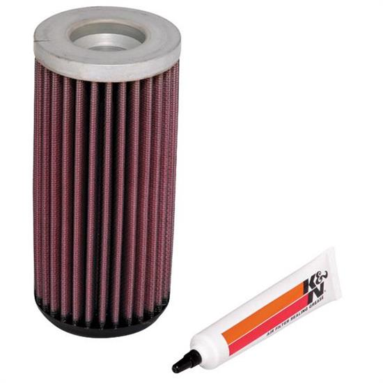 K&N E-4510 Lifetime Performance Air Filter, 7.063in Tall, Round