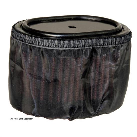 K&N E-4516DK DryCharger Air Filter Wrap, 2.75in Tall, Black