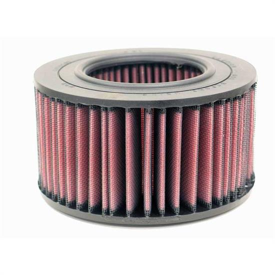 K&N E-4530 Lifetime Performance Air Filter, 3.125in Tall, Round