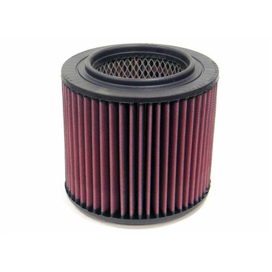 K&N E-4600 Lifetime Performance Air Filter, 5.75in Tall, Round