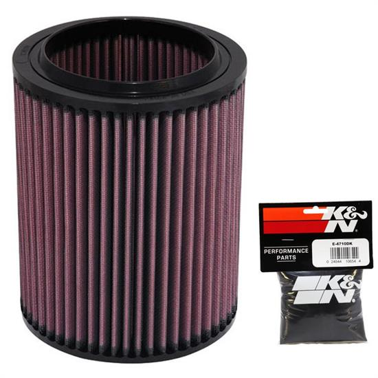 K&N E-4710 Lifetime Performance Air Filter, 7.563in Tall, Round