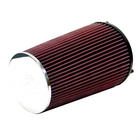 K&N E-4910 Lifetime Performance Air Filter, 10in Tall, Tapered Conical