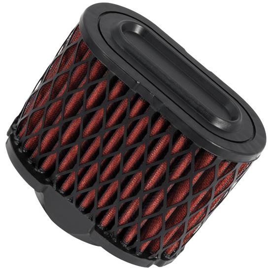 K&N E-4968 Powersports Air Filter, 4.75in Tall, Oval Tapered