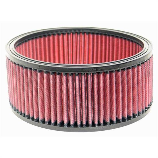 K&N E-9052 Lifetime Performance Air Filter, 3.25in Tall, Round
