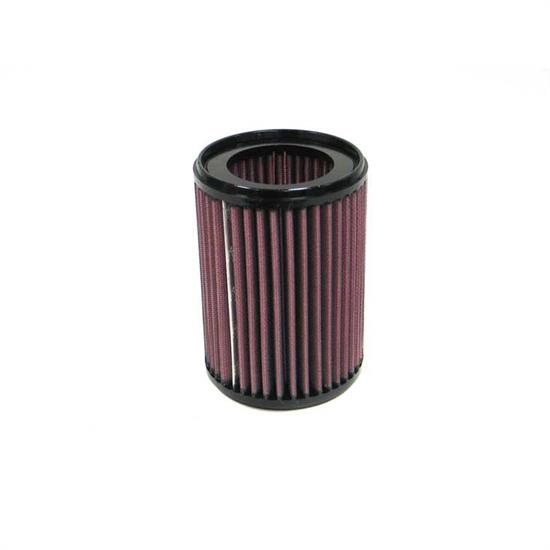 K&N E-9245 Lifetime Performance Air Filter, 5.945in Tall, Round