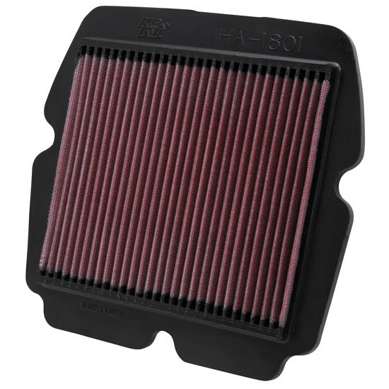 K&N HA-1801 Powersports Air Filter, Honda 1800-1832