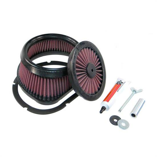 K&N HA-4502 Powersports Air Filter, Honda 444