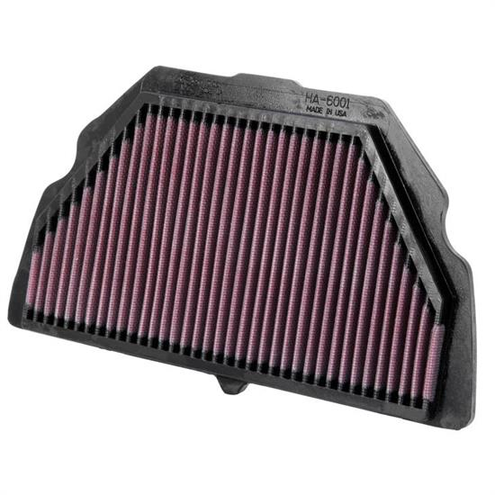 K&N HA-6001 Powersports Air Filter, Honda 600