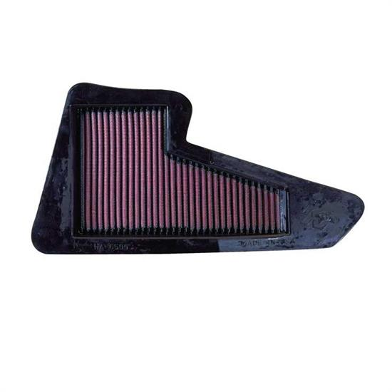 K&N HA-6500 Powersports Air Filter, Honda 650