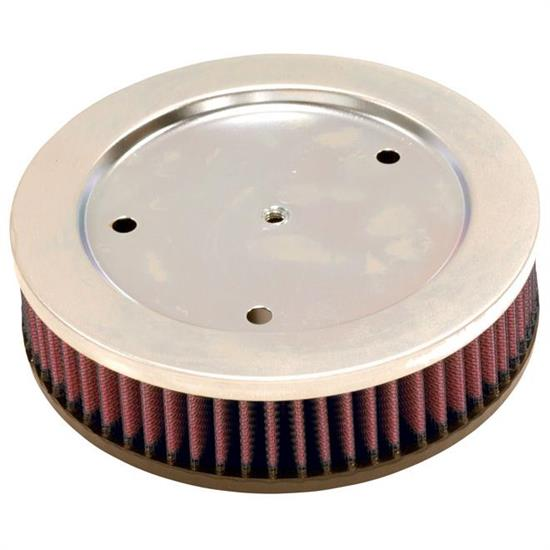 K&N HD-0600 Powersports Air Filter, 1.938in Tall, Round
