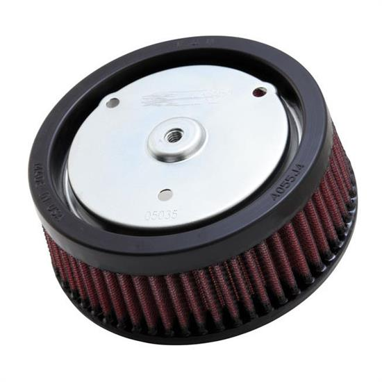 K&N HD-0818 Powersports Air Filter, 2.313in Tall, Round Tapered