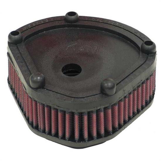K&N HD-2086 Powersports Air Filter, Harley Davidson 82