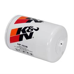 K&N HP-1018 Performance Gold Oil Filter, 1-1/8 Inch - 16 Thread
