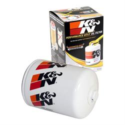 K&N HP-5001 Performance Gold Oil Filter, 1-1/2 Inch - 12 Thread x 6.68