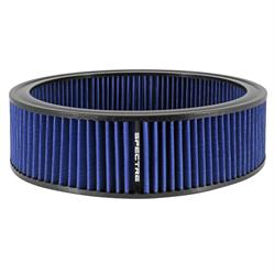 Spectre HPR0138B Performance hpR Air Filter, Blue, 4in Tall, Round
