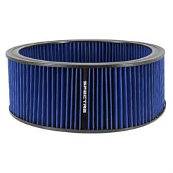 Spectre HPR0139B Performance hpR Air Filter, Blue, 5in Tall, Round