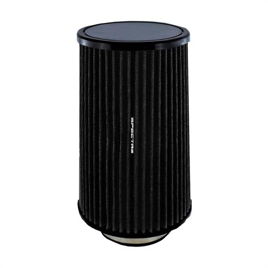 Spectre HPR0883K Conical Filter, Black, 10.719in Tall, Round Tapered