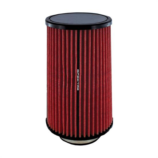 Spectre HPR0883 Conical Filter, Red, 10.719in Tall, Round Tapered