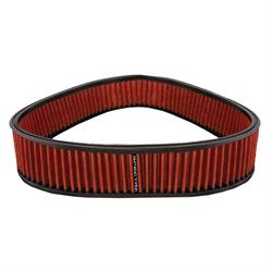 Spectre HPR4813 Performance hpR Air Filter, Red, 2.875 Tall, Triangle