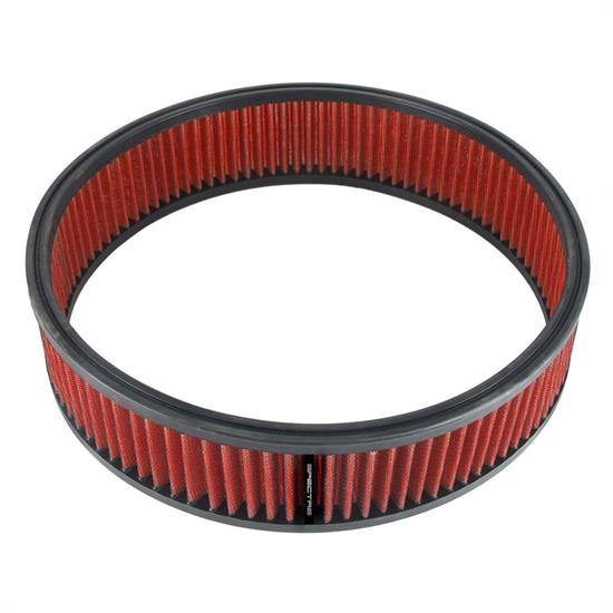 Spectre HPR8699 Performance hpR Air Filter, Red, 3in Tall, Round