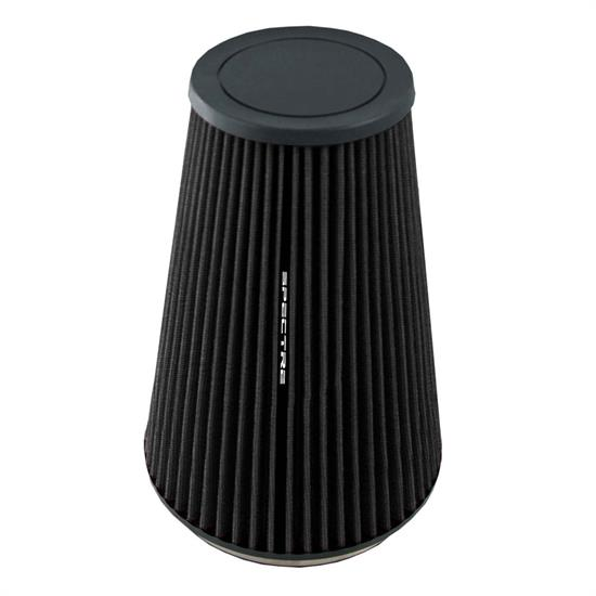 Spectre HPR9605K hpR Air Filter, Black, 10.25in Tall, Tapered Conical