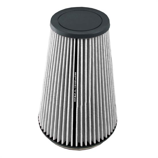 Spectre HPR9605W hpR Air Filter, White, 10.25in Tall, Tapered Conical