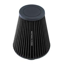 Spectre HPR9609K hpR Air Filter, Black, 8in Tall, Tapered Conical