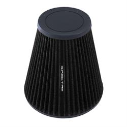 Spectre HPR9610K hpR Air Filter, Black, 8.906in Tall, Tapered Conical